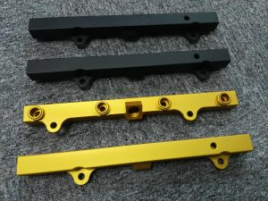 Precision Machined Fuel Rail, Auto Racing and Performance parts