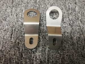 Precision Sheet Metal Fabrication - Stainless Radiator Bracket