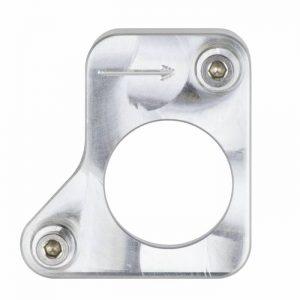 Weld-on MAF sensor adapter flange engineered to fit the 8th gen 2006-2011 Honda Civic Si 2.0L mass air flow sensors