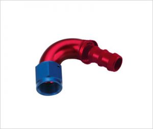 ONE PIECE Push-On HOSE END-120°