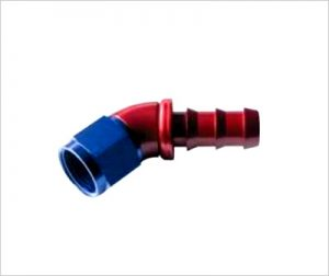 ONE PIECE Push-On HOSE END-45°