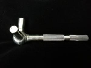 shifter shaft - straight knurling