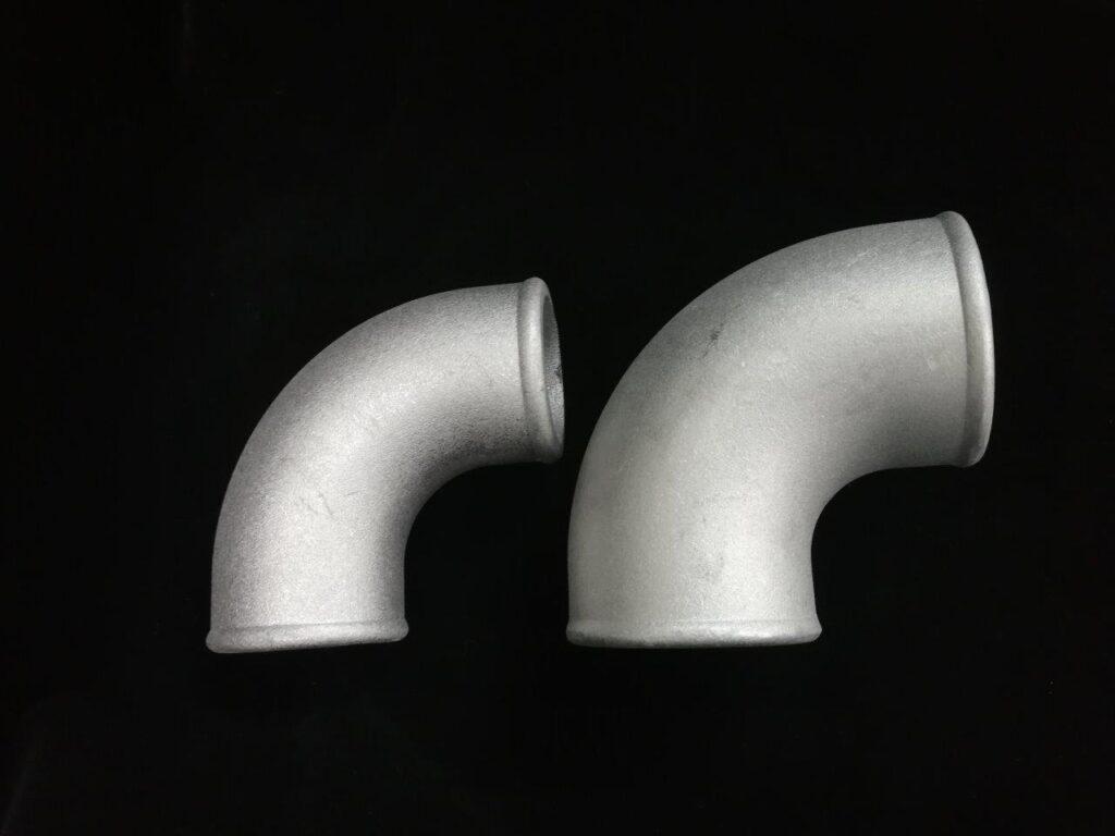 90 Degree Cast Aluminum Elbow - Tight Radius(Non-Polished)